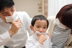 家族がインフルエンザに感染したら